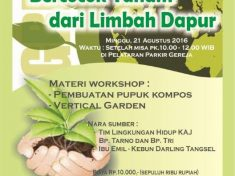 Workshop Bercocok Tanam